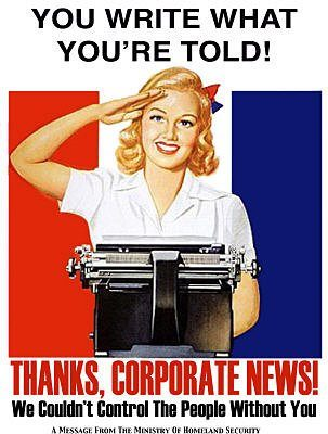 Corporate Media - Ministry of Disinformation D'oh